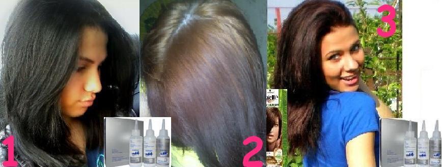 Как в домашних условиях вывести черную краску с волос